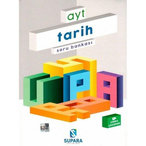 Supara Yayınları AYT Tarih Soru Bankası