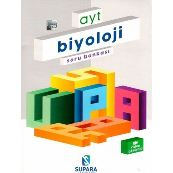Supara Yayınları AYT Biyoloji Soru Bankası