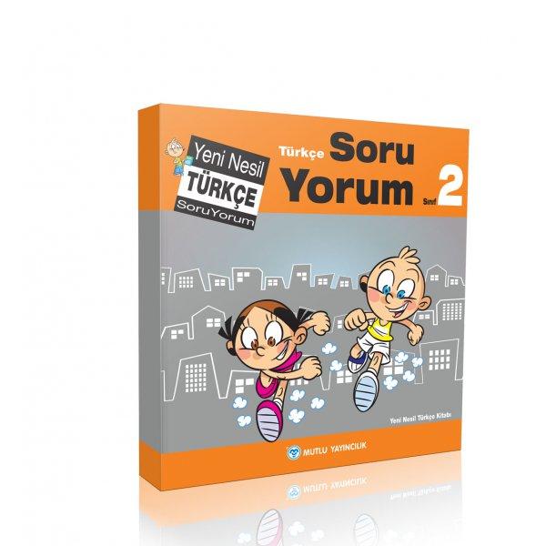 2.Sınıf Yeni Nesil Türkçe Soru Yorum Mutlu Yayınları