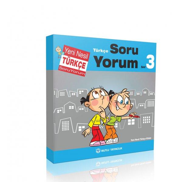 3.Sınıf Yeni Nesil Türkçe Soru Yorum Mutlu Yayınları