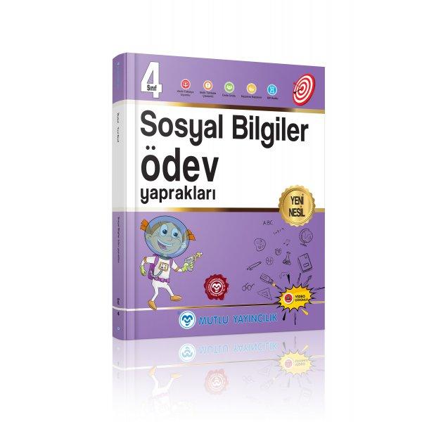 4.Sınıf Yeni Nesil Sosyal Bilgiler Ödev Yaprakları Mutlu Yayınları