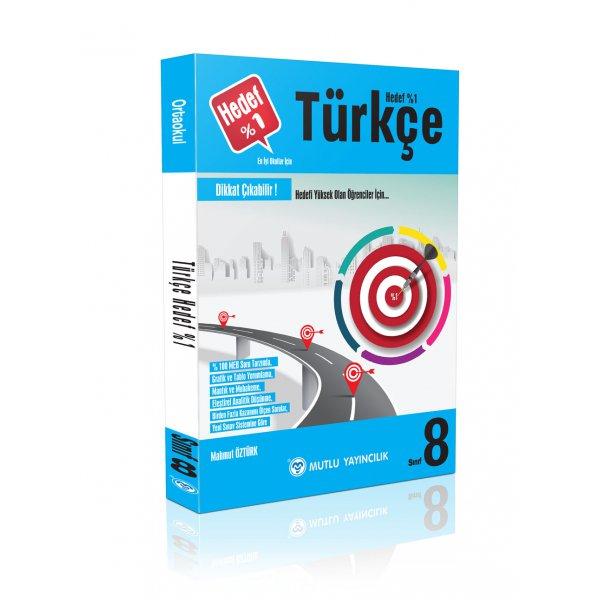 8.Sınıf LGS Hedef Yüzde 1 Türkçe Mutlu Yayınları