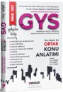 2021 Tüm Kurumlara Yönelik Memurluk-Şeflik-Müdürlük-Uzmanlık ve Diğer Unvanlar İçin GYS Ortak Konu Kitabı Paragon Yayınları