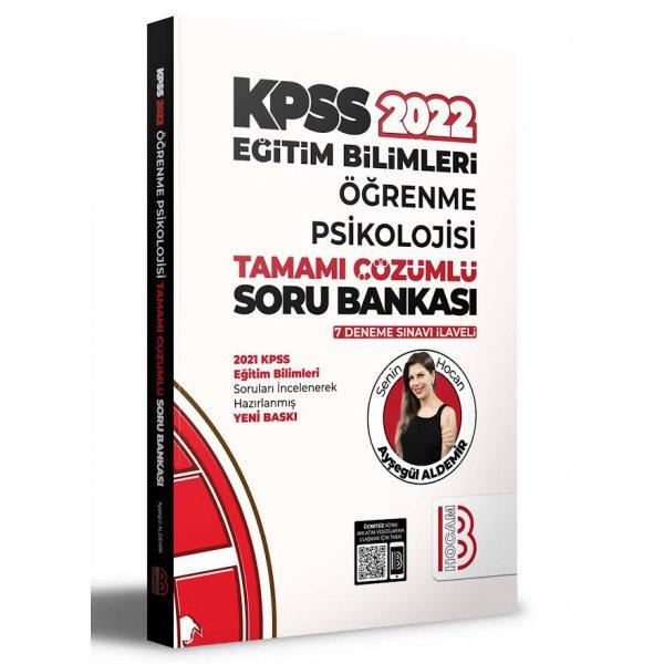 2022 KPSS Eğitim Bilimleri Öğrenme Psikolojisi Tamamı Çözümlü Soru Bankası (7 Deneme İlaveli) Benim Hocam Yayınları