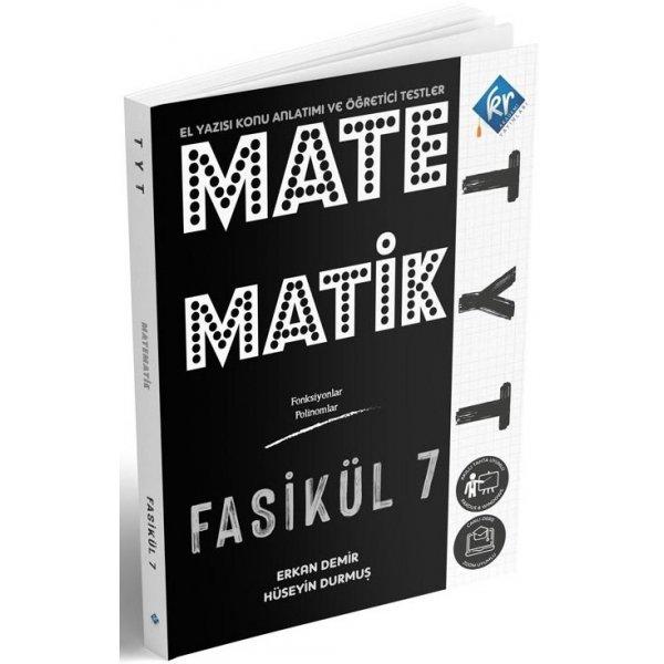 TYT Matematik El Yazısı Konu Anlatımlı 7. Fasikül KR Akademi Yayınları