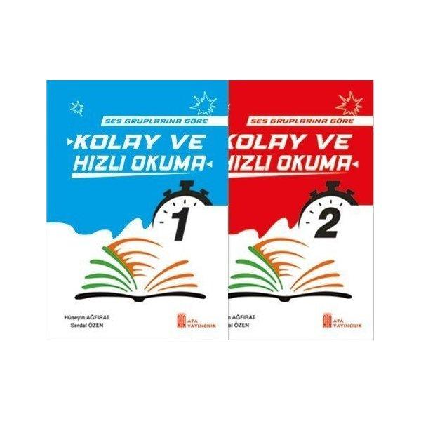 1. Sınıf Kolay ve Hızlı Okuma (2 Kitap Set) Ata Yayıncılık