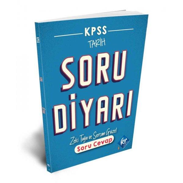 KPSS Tarih Soru Diyarı Soru Cevap Kitabı KR Akademi