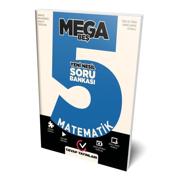 5.Sınıf MEGA Matematik Soru Bankası Cevap Yayınları