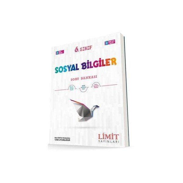6. Sınıf Sosyal Bilgiler Soru Bankası Limit Yayınları