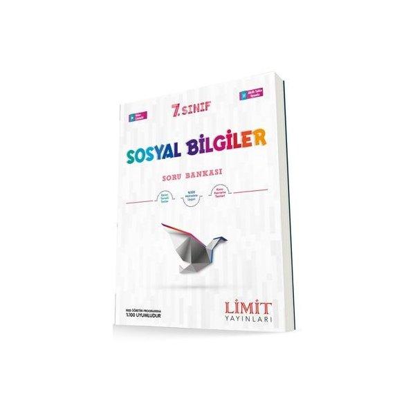 7. Sınıf Sosyal Bilgiler Soru Bankası Limit Yayınları