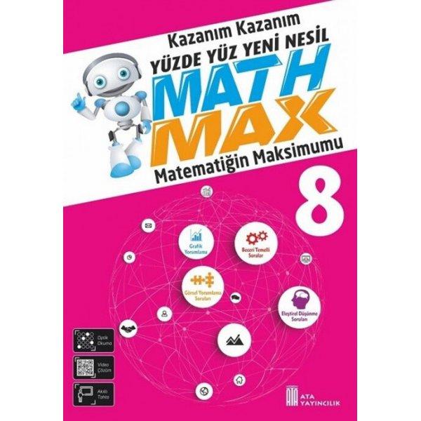 8. Sınıf LGS Matematik Math Max Soru Bankası Ata Yayıncılık