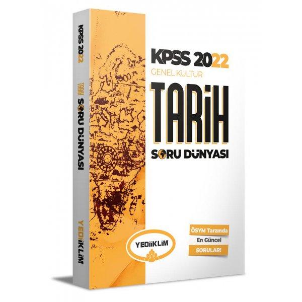 2022 KPSS Genel Kültür Tarih Soru Dünyası Yediiklim Yayınları