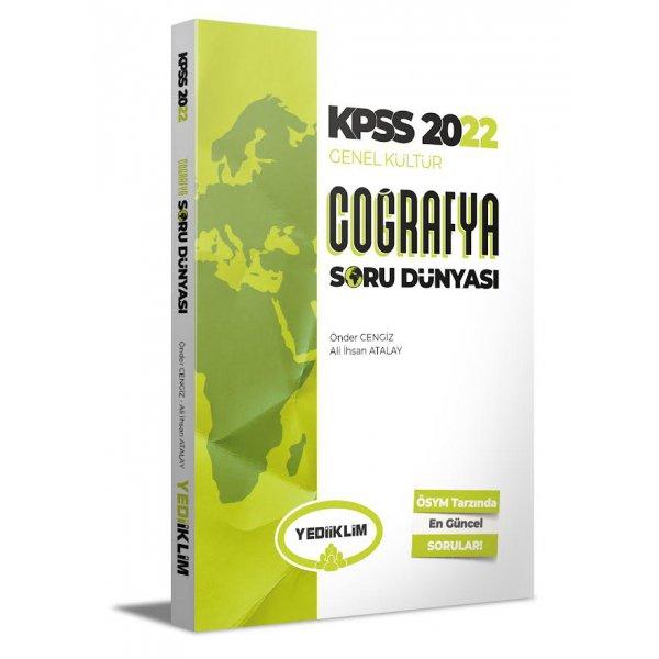2022 KPSS Genel Kültür Coğrafya Soru Dünyası Yediiklim Yayınları