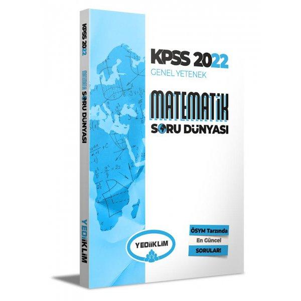 2022 KPSS Genel Yetenek Matematik Soru Dünyası Yediiklim Yayınları