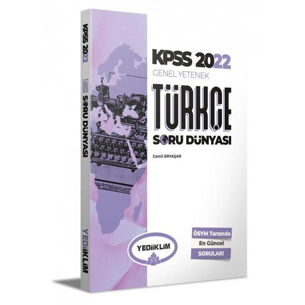 2022 KPSS Genel Yetenek Türkçe Soru Dünyası Yediiklim Yayınları