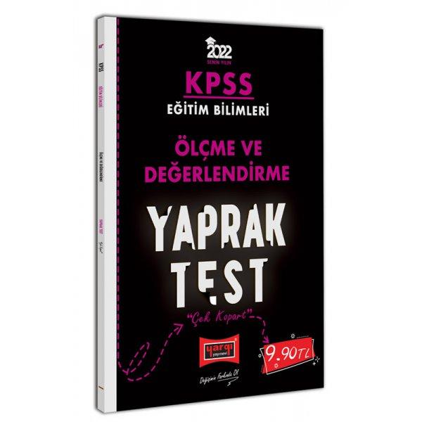 2022 KPSS Eğitim Bilimleri Ölçme ve Değerlendirme Yaprak Test Yargı Yayınları
