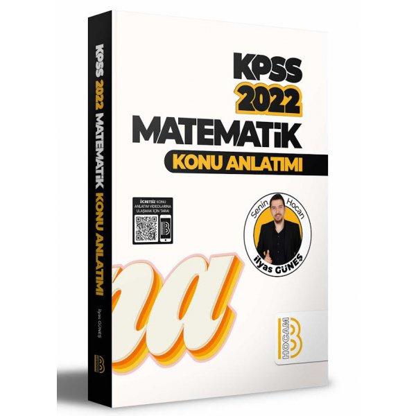 2022 KPSS Matematik Konu Anlatımı İlyas Güneş Benim Hocam Yayınları