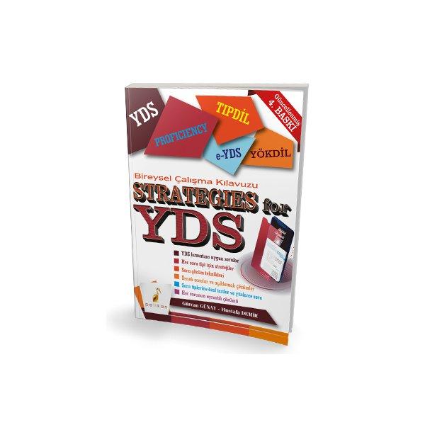 Strategies for YDS Bireysel Çalışma Kılavuzu Pelikan Yayınları