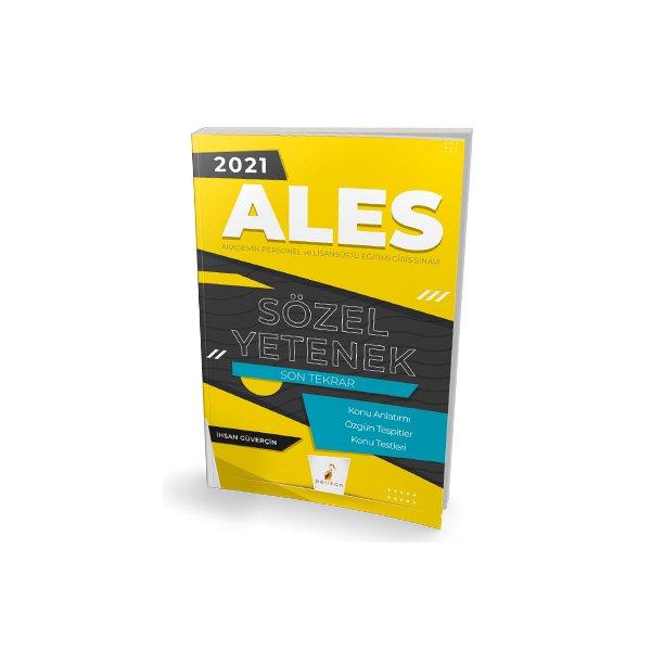 2021 ALES Sözel Yetenek Son Tekrar Konu Anlatımı Pelikan Yayınları