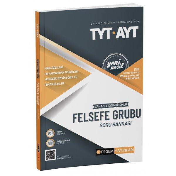 TYT-AYT Felsefe Grubu Soru Bankası Pegem Yayınları