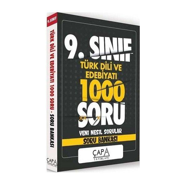 9. Sınıf Türk Dili ve Edebiyatı 1000 Soru Çapa Yayınları