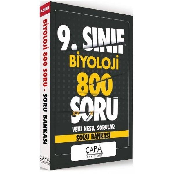 9. Sınıf Biyoloji Soru Bankası 800 Soru Çapa Yayınları