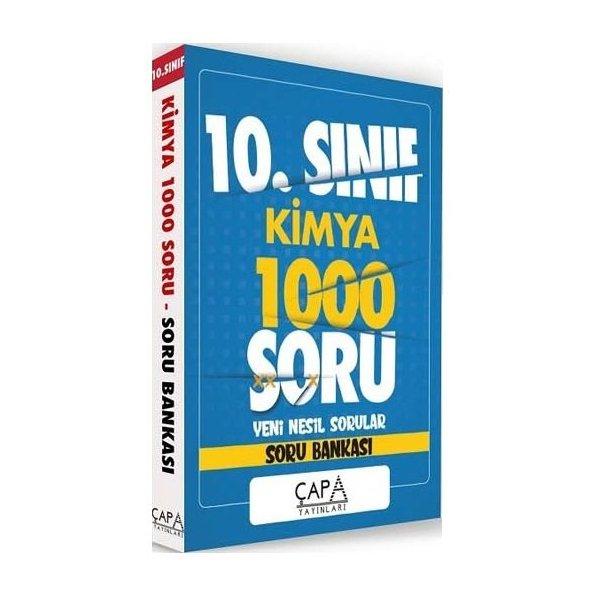 10. Sınıf Kimya Soru Bankası 1000 Soru Çapa Yayınları