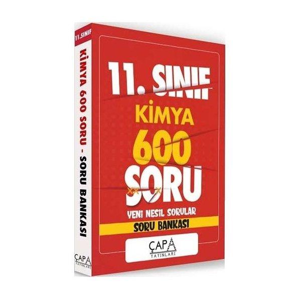 11. Sınıf Kimya Soru Bankası 600 Soru Çapa Yayınları
