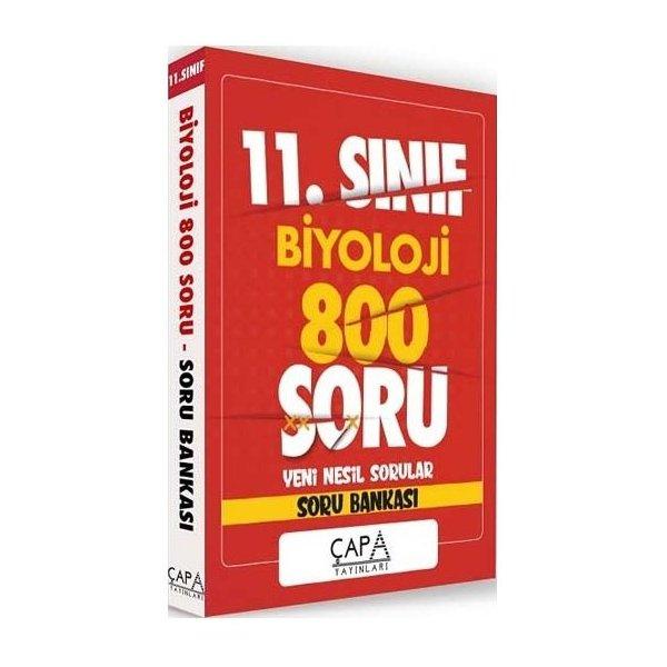 11. Sınıf Biyoloji Soru Bankası 800 Soru Çapa Yayınları