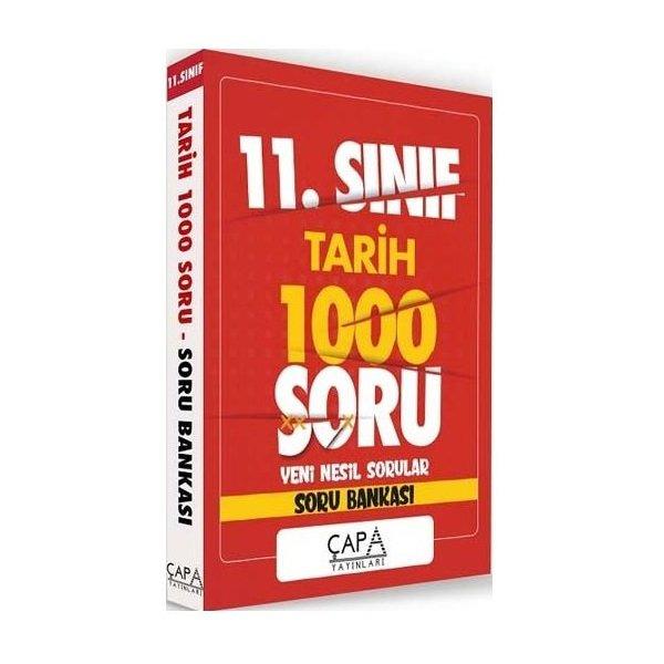 11. Sınıf Tarih Soru Bankası 1000 Soru Çapa Yayınları