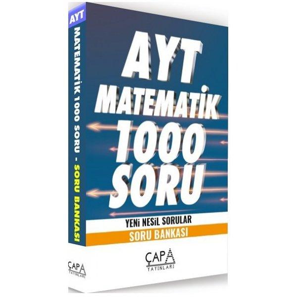 AYT Matematik Soru Bankası 1000 Soru Çapa Yayınları