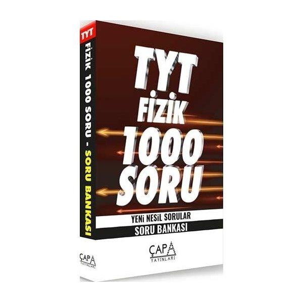 TYT Fizik Soru Bankası 1000 Soru Çapa Yayınları