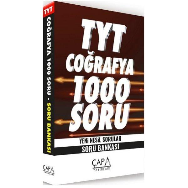 TYT Coğrafya Soru Bankası 1000 Soru Çapa Yayınları