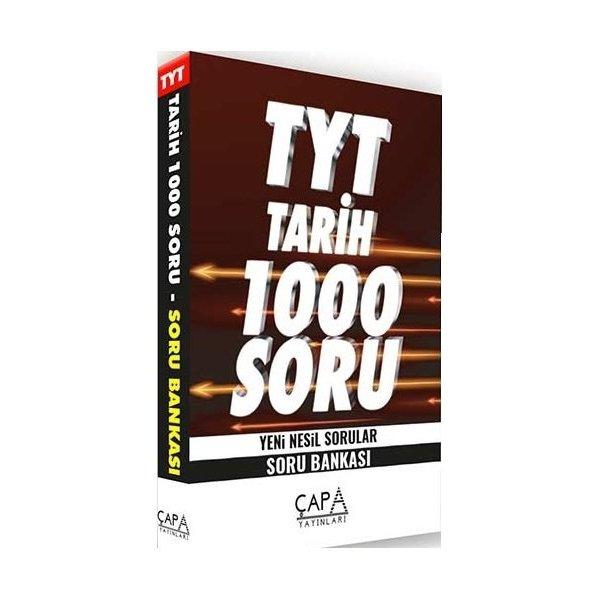 TYT Tarih Soru Bankası 1000 Soru Çapa Yayınları