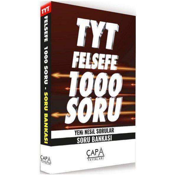 TYT Felsefe Soru Bankası 1000 Soru Çapa Yayınları