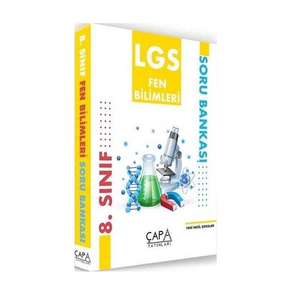 8. Sınıf LGS Fen Bilimleri Soru Bankası Çapa Yayınları