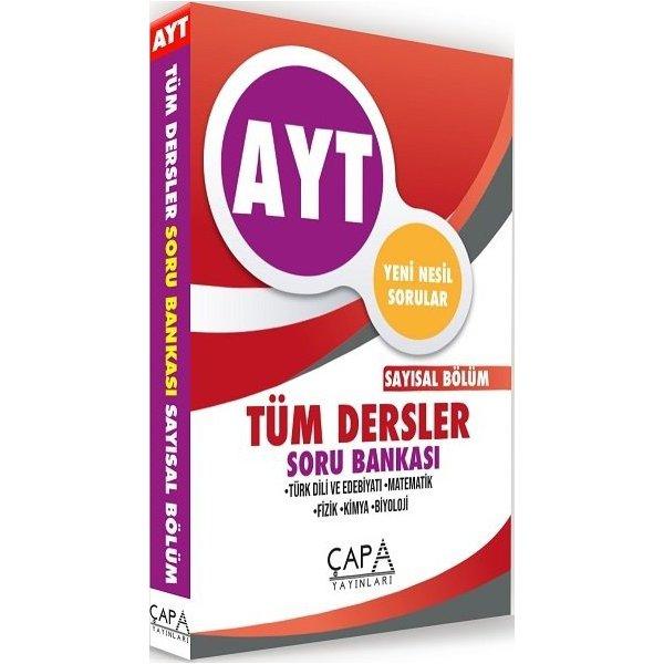 AYT Tüm Dersler Sayısal Soru Bankası Çapa Yayınları