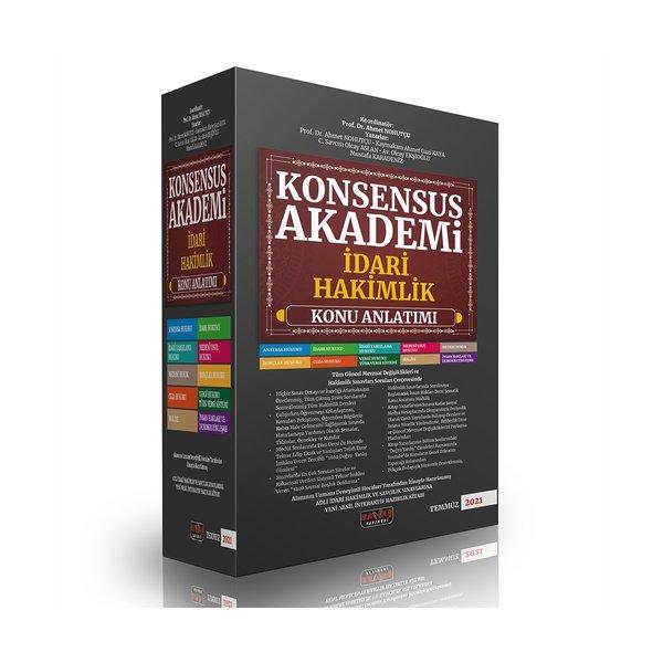 2021 KONSENSUS Akademi İdari Hakimlik Konu Anlatımı Savaş Yayınları