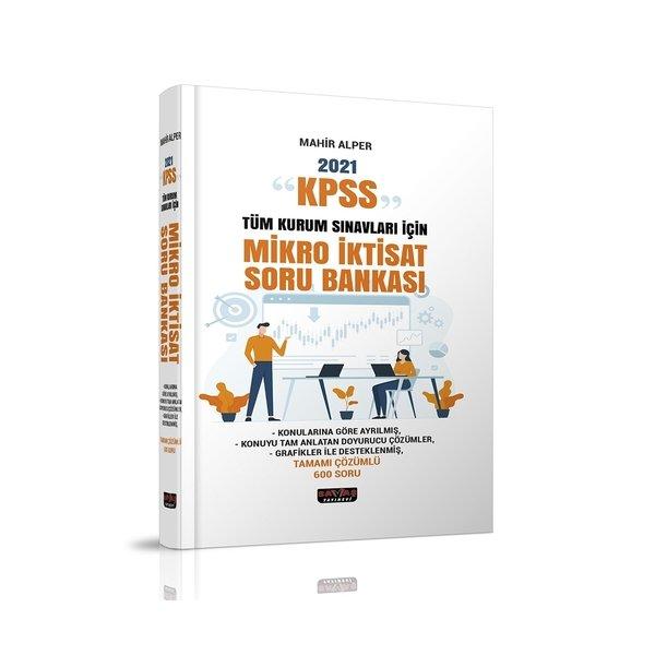 2021 KPSS ve Tüm Kurum Sınavları İçin Mikro İktisat Soru Bankası Savaş Yayınları