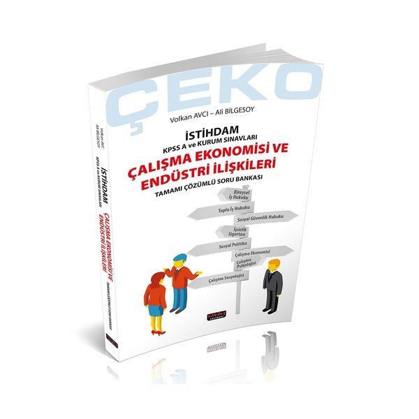 2021 ÇEKO İstihdam Çalışma Ekonomisi ve Endüstri İlişkileri Soru Bankası Savaş Yayınları