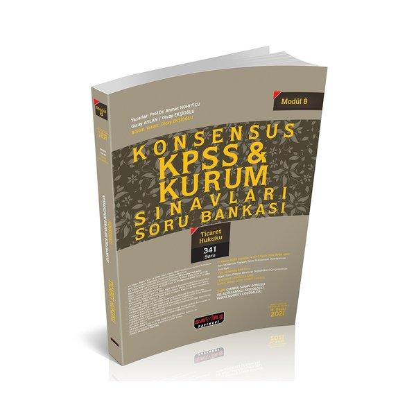 KONSENSUS KPSS Ticaret Hukuku Soru Bankası Modül 8 Savaş Yayınları