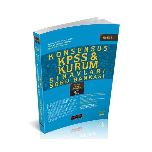 KONSENSUS KPSS İcra ve İflas Hukuku Soru Bankası Modül 5 Savaş Yayınları