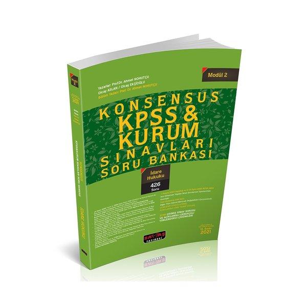 KONSENSUS KPSS İdare Hukuku Soru Bankası Modül 2 Savaş Yayınları