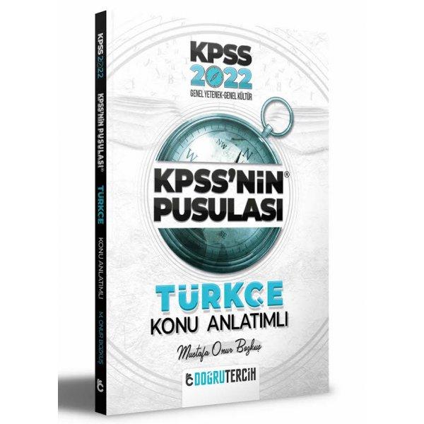 2022 KPSS'nin Pusulası Türkçe Konu Anlatımı Mustafa Onur Bozkuş Doğru Tercih Yayınları