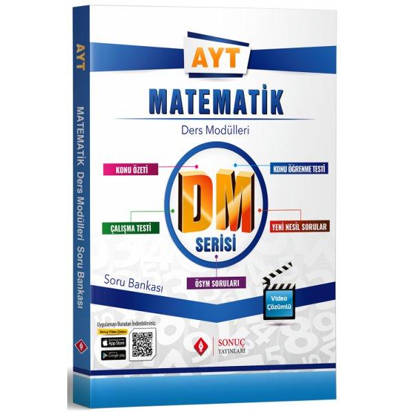 AYT Matematik DM Ders Modülleri Soru Bankası Sonuç Yayınları