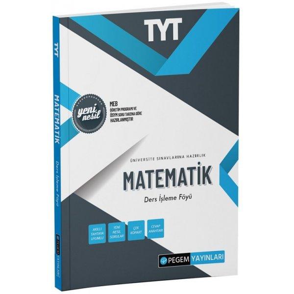 TYT Matematik Ders İşleme Föyü Pegem Yayınları