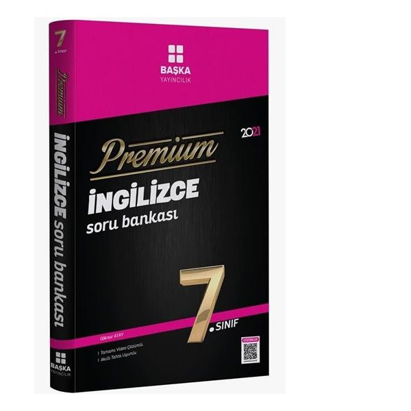 7.Sınıf Premium İngilizce Soru Bankası Başka Yayınları
