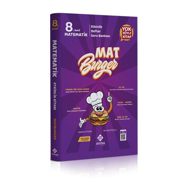 8.Sınıf LGS Matburger Matematik Soru Bankası Ekstra Yayınları