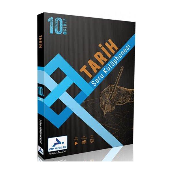 10. Sınıf Tarih Soru Kütüphanesi Paraf Yayınları