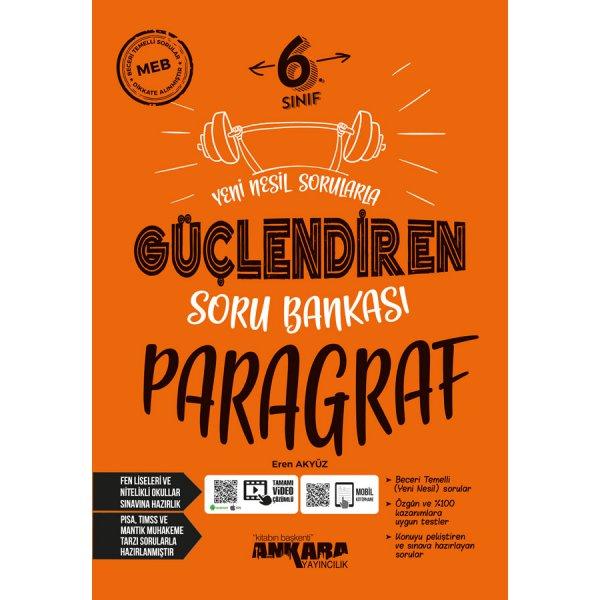 6. Sınıf Güçlendiren Paragraf Soru Bankası Ankara Yayıncılık